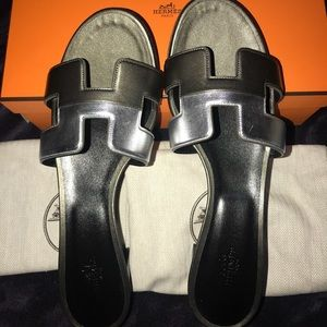 New Authentic Hermes Oasis Sandal